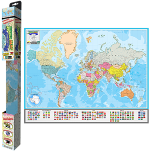 Popar-World-Map-Geography-Nations-Smart-Chart